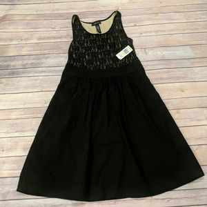 NWT Style and Co Black Dress Size 4